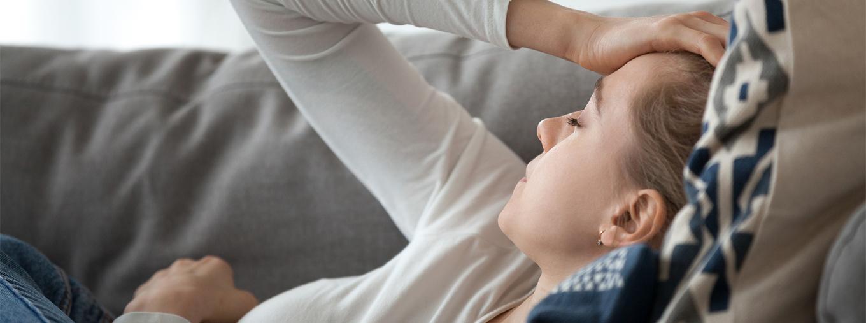 Migräne-Lokalisation und typische Begleitsymptome